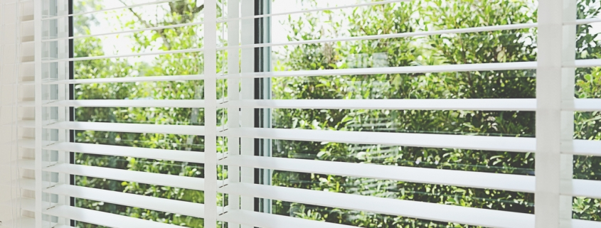 Easy Care, Classy Looks Define Faux Wood Blinds