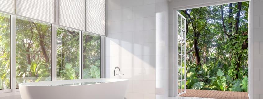 Window Treatments For Bathrooms | Bathroom Shades