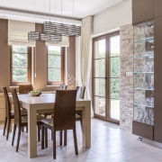 Dining Room Window Treatments | Motorized Blinds | Shades