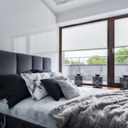 Bedroom Window Treatments | Blackout Curtains | Orlando Motorized Shades